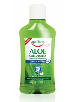 Aloe Triple Action Mouthwash 500ml - ústna voda s strojitým účinkom